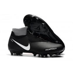 Nike Mens Phantom Vision Elite DF FG Soccer Cleat - Black Orange White