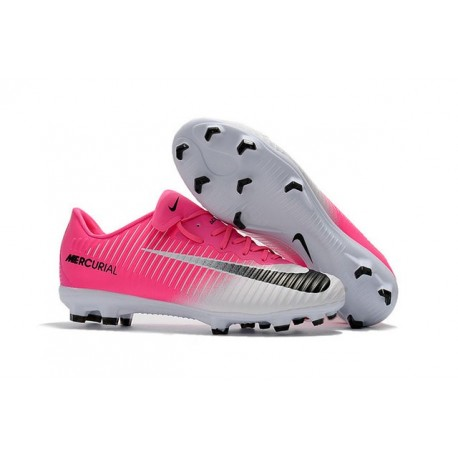 Nike Mercurial Vapor XI FG New Soccer Cleat Pink White Black