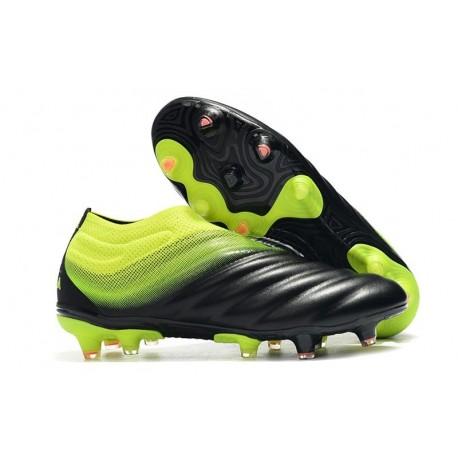 Adidas Copa 19+ FG New Mens Soccer Boots - Black Green