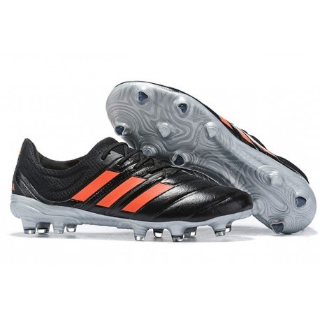 Adidas Copa 19.1 FG Firm Ground Mens Boots - Core Black Sloar Red