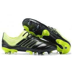 Adidas Copa 19.1 FG Firm Ground Mens Boots - Black Solar Yellow