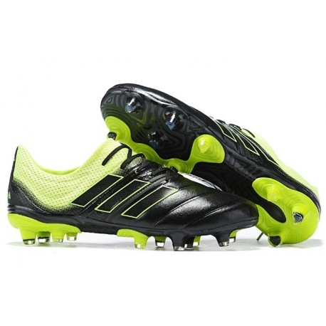 Adidas Copa 19.1 FG Firm Ground Mens Boots - Black Solar Yellow