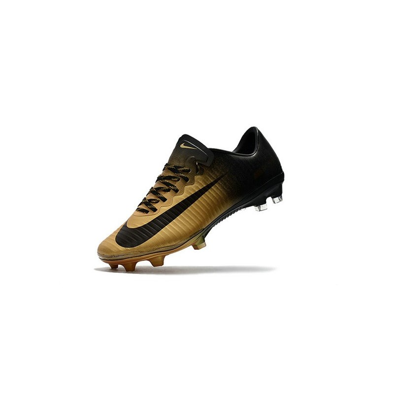 Nike Mercurial Vapor XI FG New Soccer Cleat Gold Black Maximize. Previous.  Next