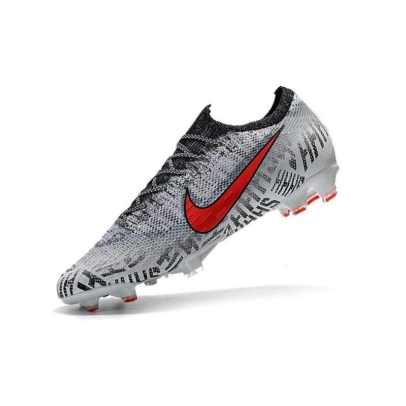 tout neuf 3fb8d 192b9 Neymar Nike Mercurial Vapor 12 FG Soccer Boots - White Red