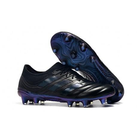 Adidas Copa 19.1 FG Firm Ground Mens Boots - Black Blue