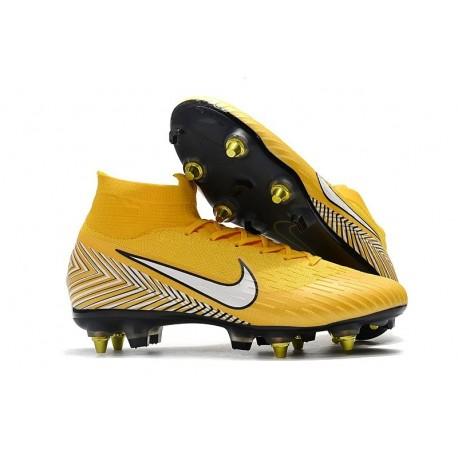 Nike Mercurial Superfly VI 360 Elite SG AC - Neymar Yellow