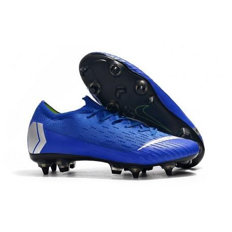 Nike Mercurial Vapor 12 Elite AC SG-Pro Blue Silver