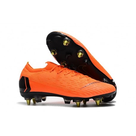 Nike Mercurial Vapor 12 Elite AC SG-Pro Orange Black