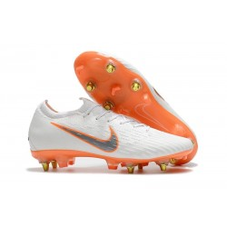 Nike Mercurial Vapor 12 Elite AC SG-Pro White Orange
