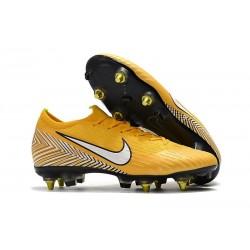 Neymar Nike Mercurial Vapor XII 360 Elite SG-Pro AC Yellow White