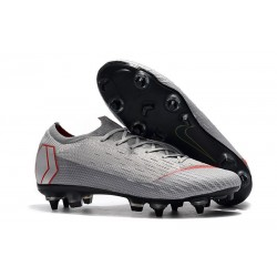 Nike Mercurial Vapor XII 360 Elite SG-Pro AC Gray Red