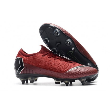 Nike Mercurial Vapor XII 360 Elite SG-Pro AC Red Black