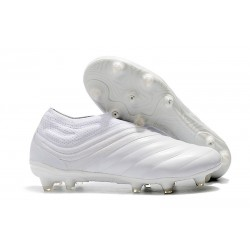 Adidas Copa 19+ FG New Mens Soccer Boots - All White