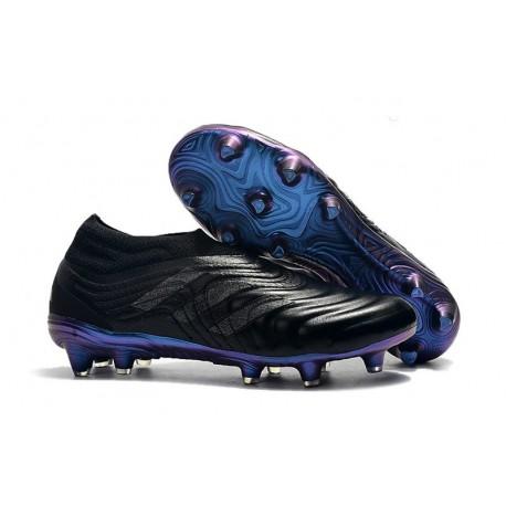 Adidas Copa 19+ FG New Mens Soccer Boots - Black Blue