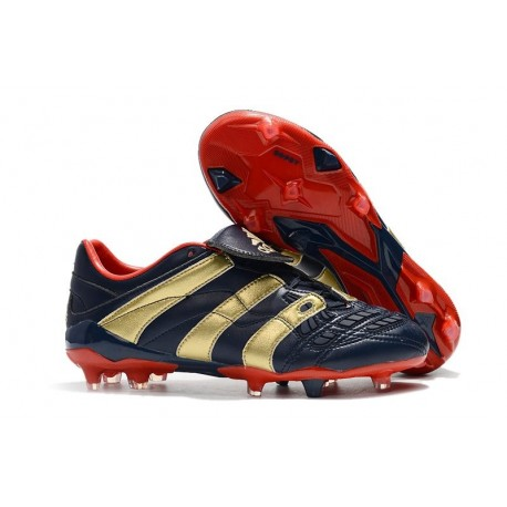 New Adidas Predator Accelerator Electricity Cleats - Cyan Red Gold