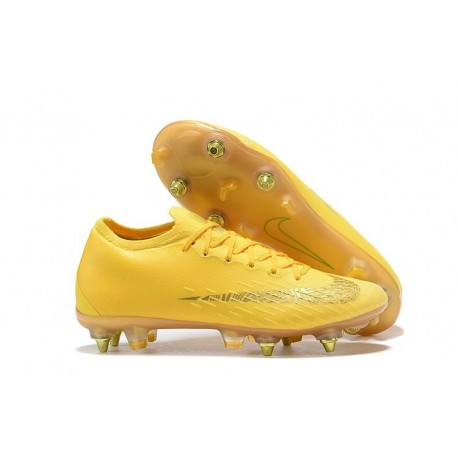 Nike Mercurial Vapor XII 360 Elite SG-Pro AC Yellow Gold