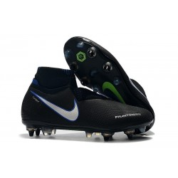 Nike Phantom Vision Elite DF SG Pro AC Black Blue Silver