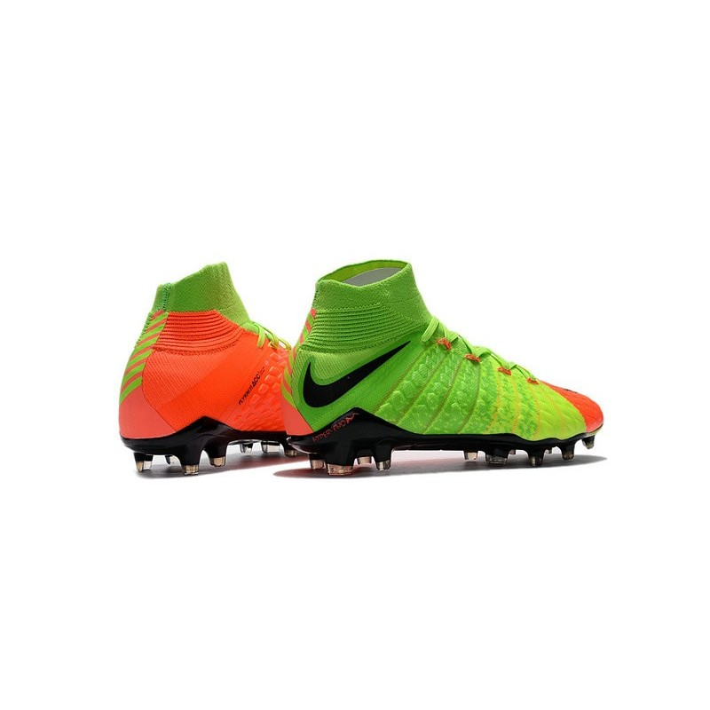 new 2017 nike hypervenom phantom 3 df fg acc soccer cleats electric green orange black. Black Bedroom Furniture Sets. Home Design Ideas
