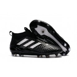 New 2017 adidas ACE 17+ Purecontrol FG Soccer Cleats - Black White