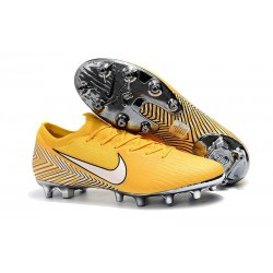 Neymar Nike Mercurial Vapor 360 Elite AG-PRO Yellow White