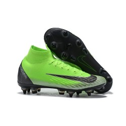Ronaldo Nike Mercurial Superfly VI 360 Elite SG AC - Green Black