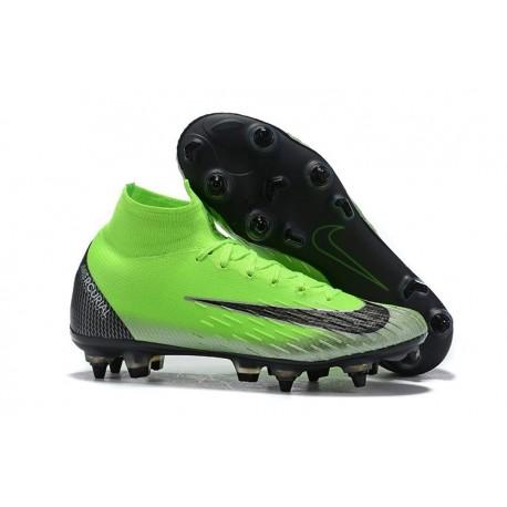 Ronaldo Nike Mercurial Superfly VI 360 Elite SG AC - Green Black