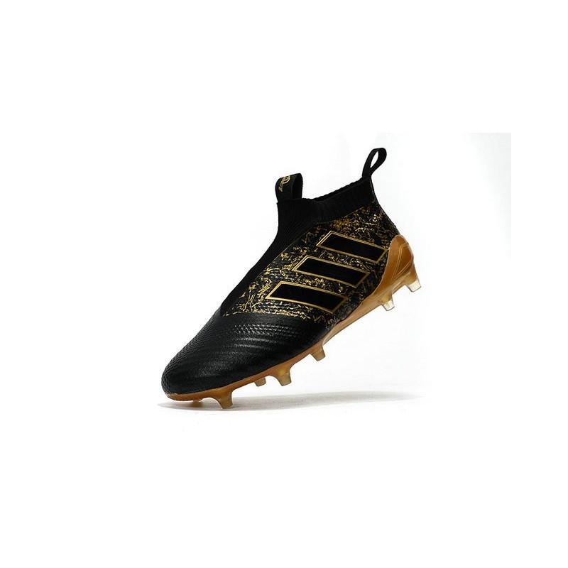 9a2c3059844 Paul Pogba New 2017 adidas ACE 17+ Purecontrol FG Soccer Cleats - Black  Gold Maximize. Previous. Next