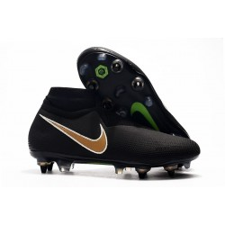 Nike Phantom Vision Elite DF SG Pro AC Black Golden