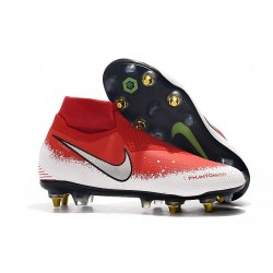 Nike Phantom Vision Elite DF SG Pro AC Red White Silver