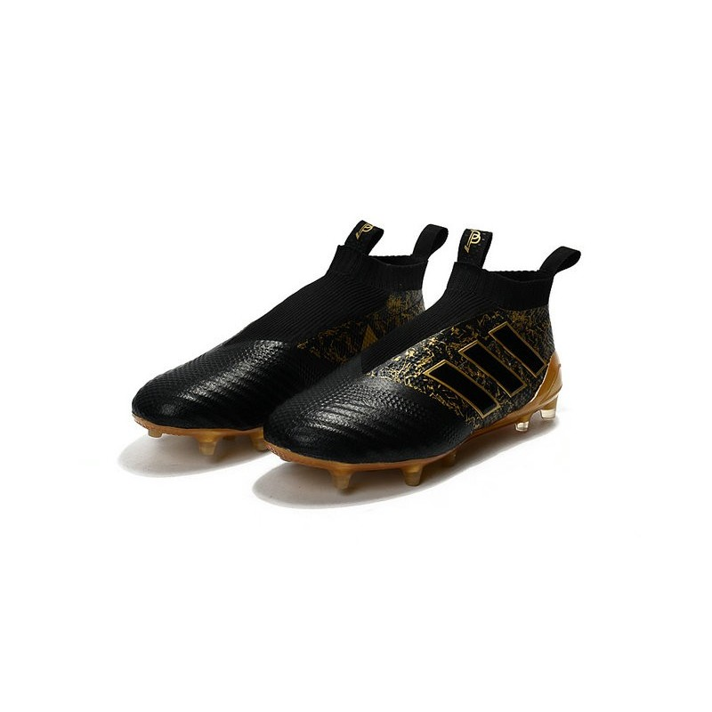 c1125b227 Paul Pogba New 2017 adidas ACE 17+ Purecontrol FG Soccer Cleats - Black  Gold Maximize. Previous. Next