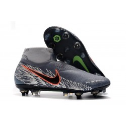 Nike Phantom Vision Elite DF SG Pro AC Grey Silver Black