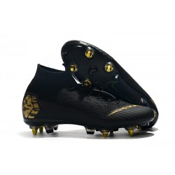 Nike Mercurial Superfly VI 360 Elite SG AC - Black Golden