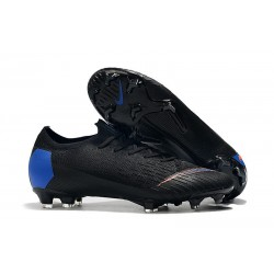 Nike Mercurial Vapor XII FG New Cleat Black Blue Orange