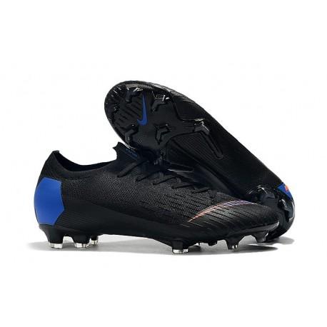 Nike Mercurial Vapor XII FG New Cleat Black Blue Orange