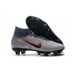 Nike Mercurial Superfly VI 360 Elite SG AC - Wolf Grey Orange