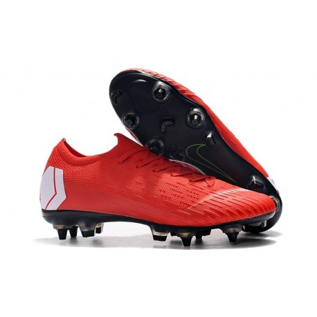 Nike Mercurial Vapor XII 360 Elite SG-Pro AC Red White