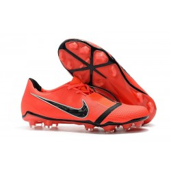 Nike Phantom Venom Elite FG Soccer Cleat Bright Crimson Black