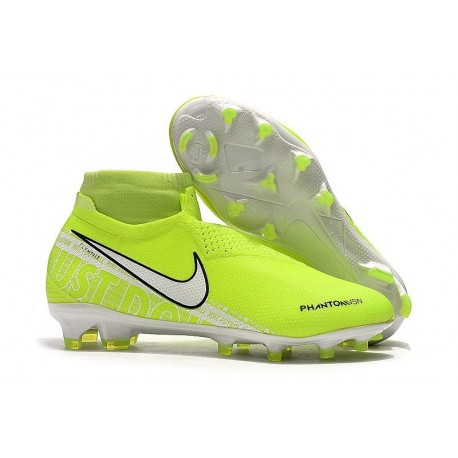 News Nike Phantom Vision Elite DF FG Boots Volt White