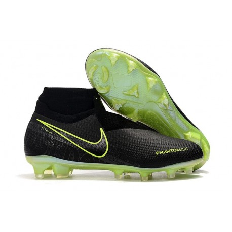 News Nike Phantom Vision Elite DF FG Under The Radar Black Green
