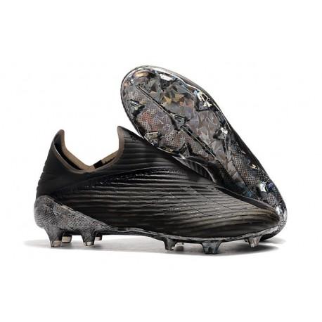adidas X 19+ FG New Soccer Boots Core Black