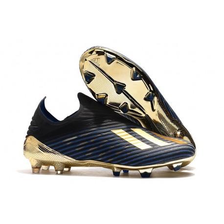 adidas X 19+ FG New Soccer Boots Blue Black Gold