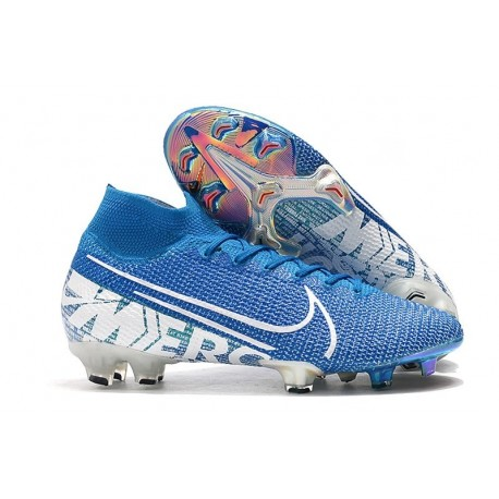 Nike Mercurial Superfly 7 Elite FG Boots Blue Hero White Obsidian
