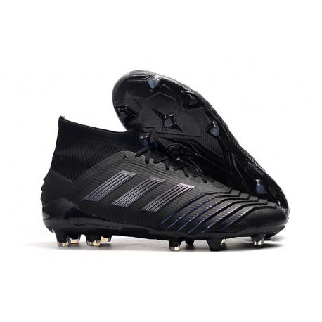 adidas Predator 19.1 FG Firm Ground Boots - Full Black
