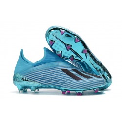 adidas X 19+ FG New Soccer Boots Bright Cyan Black