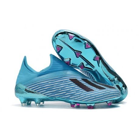 adidas X 19+ FG New Soccer Boots Bright Cyan Black