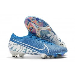 Nike Mercurial Vapor 13 Elite FG Cleat New Lights Blue White