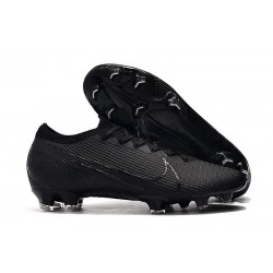 Nike Mercurial Vapor 13 Elite FG Cleat Under The Radar Black