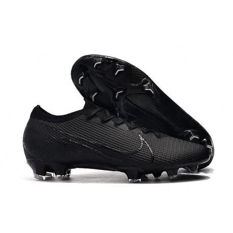 Nike Mercurial Vapor 13 Elite FG Cleat Under The Radar Black