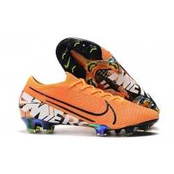 Nike Mercurial Vapor 13 Elite FG Cleat Orange Black