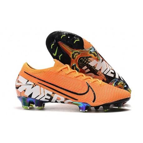 Nike Mercurial Vapor 13 Elite FG Cleat Orange Black
